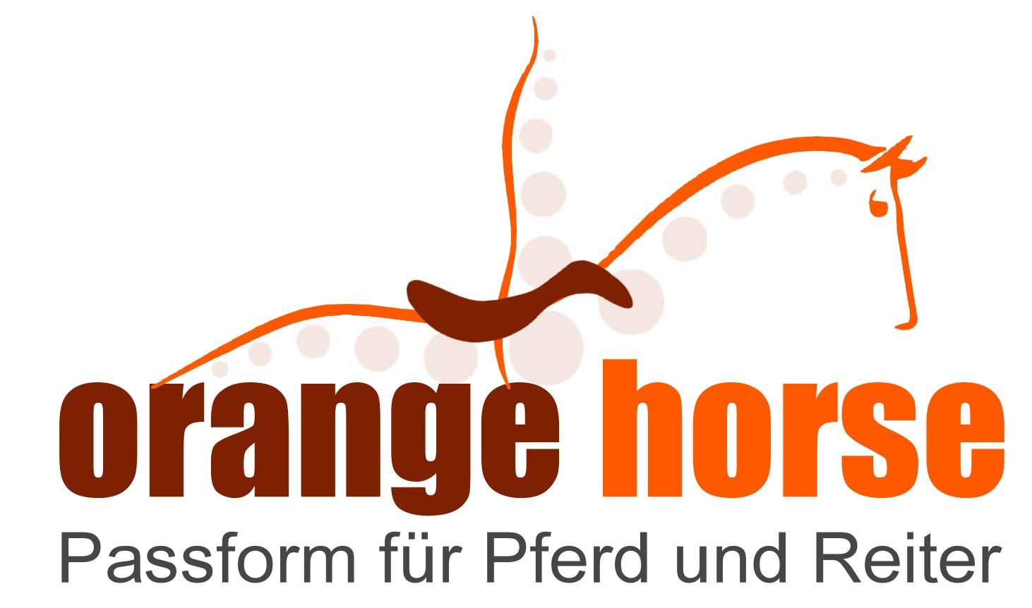 Logo Orangehorse Yvonne Stahl Sattlerei